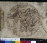 Demons attack Guthlac